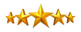 5 Star Rating Transparent Image 320x129 1